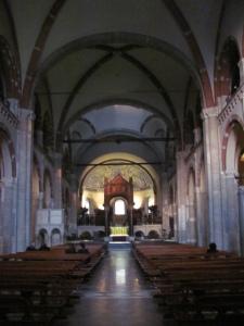 Romanesque Basilica Sant'Ambrogio, Milan (my photo)